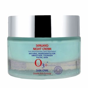 O3+ Seaweed Night Cream Deep Face Moisturizer for Pore Minimizing