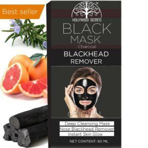 Purifying Black peel off mask, black mask blackhead remover - Activated Charcoal Deep Cleansing Facial Acne Pore Cleaner