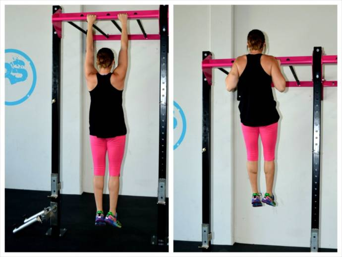 Hanging exercise for height increase