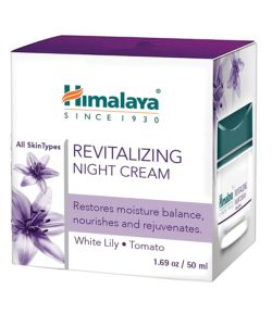 Himalaya Herbals Revitalizing Night Cream, 50 gm