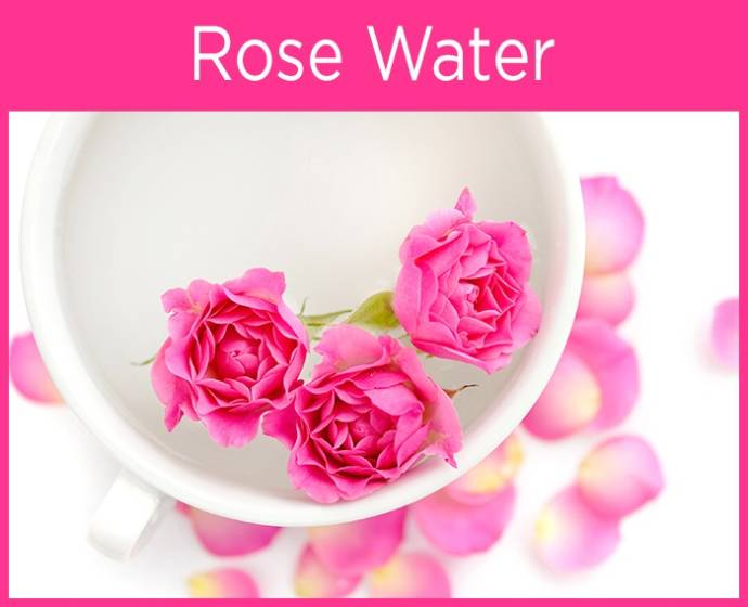 Rose Water for pink rose nails