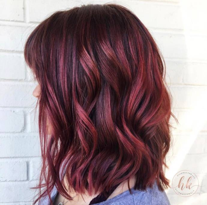 Top balayage hairstyles for black hair