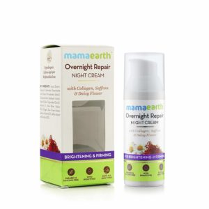 Mamaearth Skin Repair Night Cream for Glowing Skin & Anti-Ageing