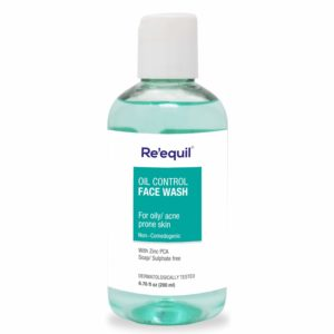 RE'EQUIL Oil Control sulphate-free Anti Acne Face Wash for Oily & Sensitive Skin