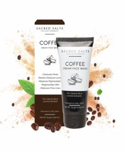 Sacred Salts Coffee Cream Face Wash