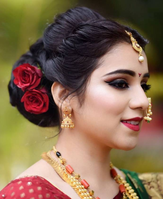 Wedding Hairstyle For Kerala Bride: Latest Dulhan Hairstyles For Wedding
