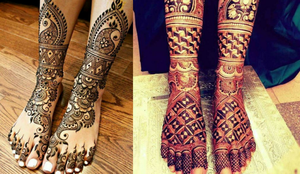 3D Style Mehndi Design and Floral Mehndi Design