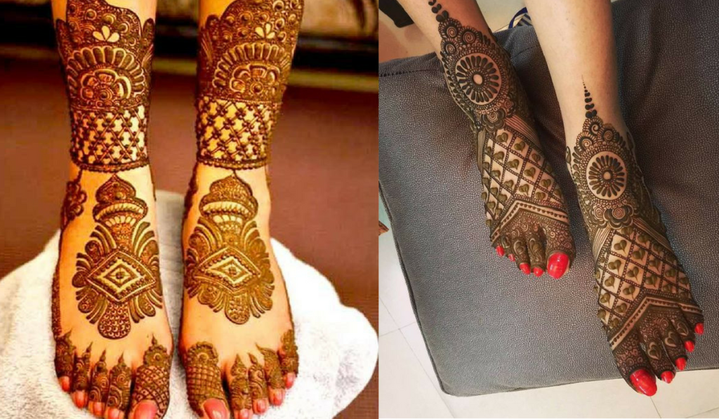 Aroma of love in Mehendi