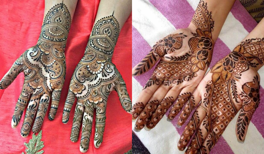 Florals and Paisley designs for Mehendi