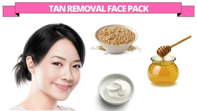 Facepacks For Removing Sun Tanned Skin Or Dead Skin Cells In Hindi recommend