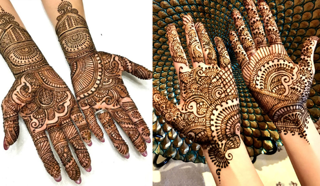 Mehendi with a name