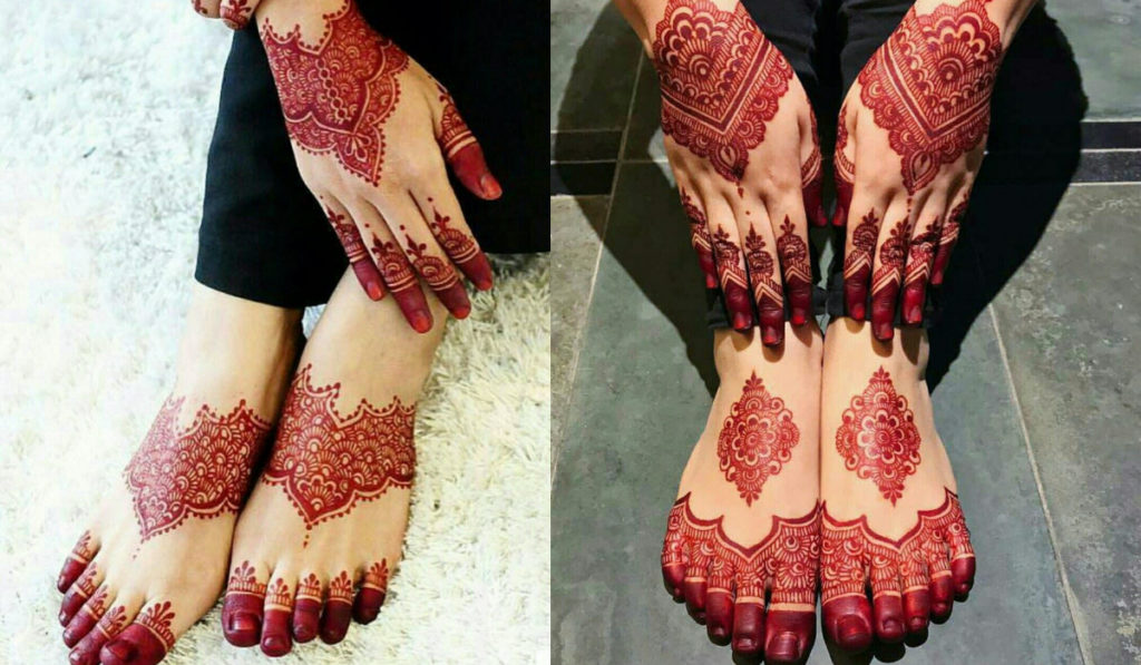 Red Henna for hand and feet