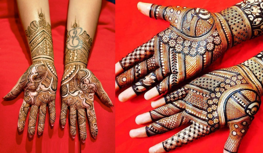 Tattoo friendly mehendi