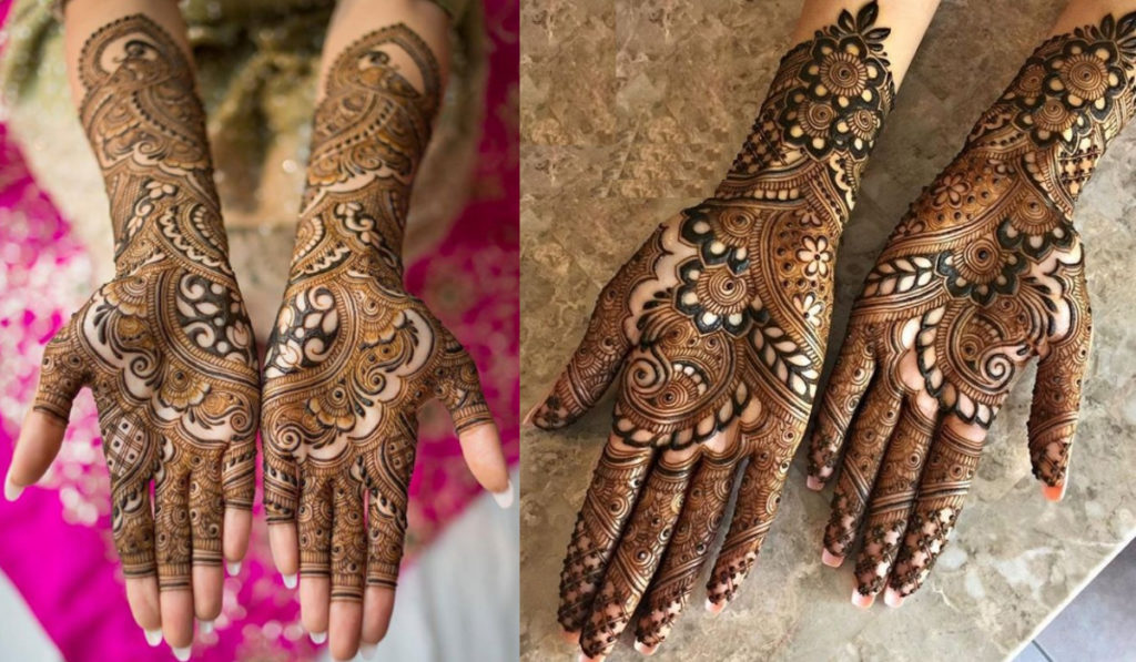 The Authentic Indian Style Mehendi Design