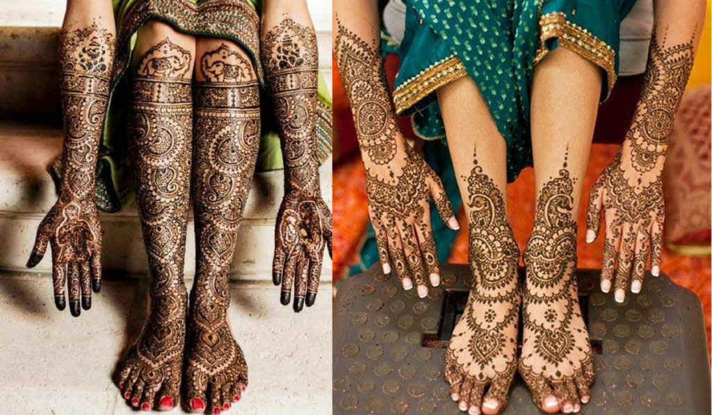 The Dulha-Dulhan Mehndi Package or Going it the Jewelry way