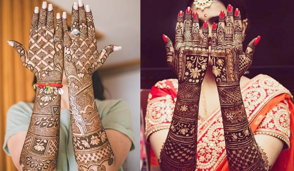 The Dulhan mehendi