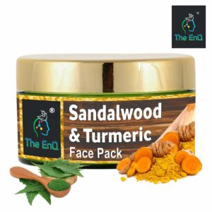 The EnQ Sandalwood and Turmeric Face Pack