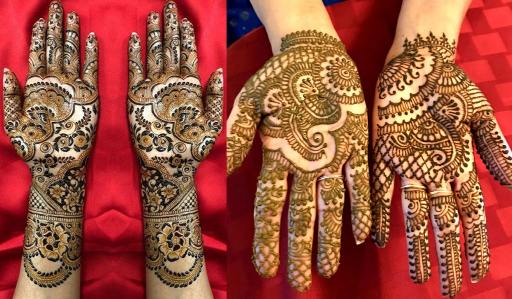The easy to make mehendi