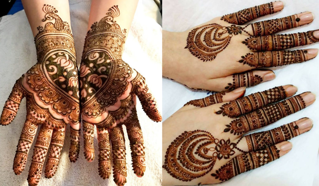 The ornamental mehendi