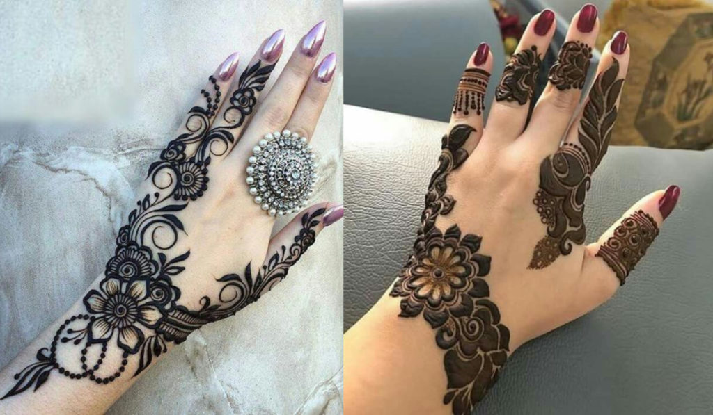 The sophisticated mehendi