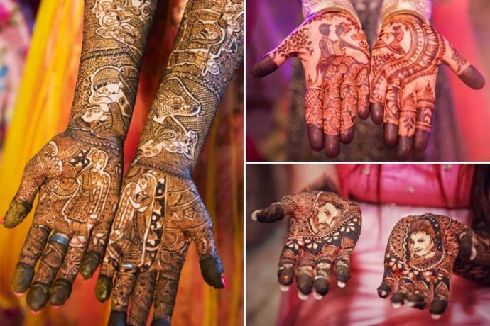 bridal mehndi designs for full hands pdf