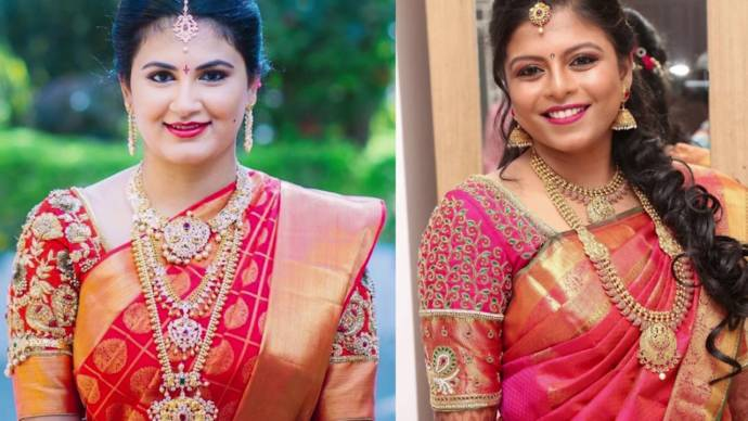 e846d2e49 Maggam works are now a trending fashion particularly because of the  gorgeous look they add to any garment. Be it a saree