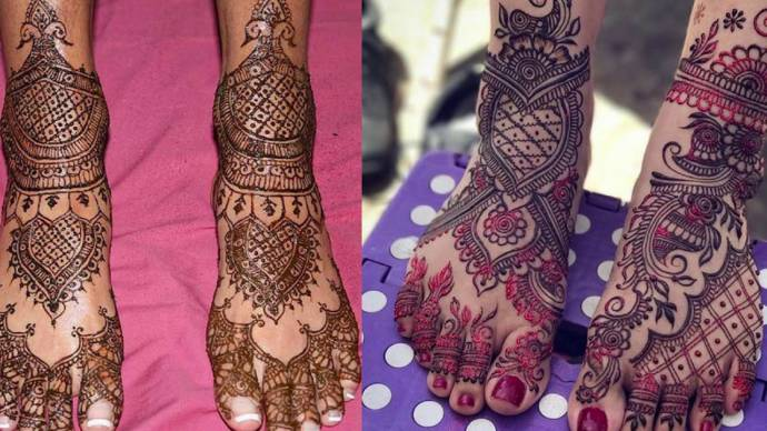Full Legs Wedding Mehandi Designs Awesome Bridal Leg Henna Designs