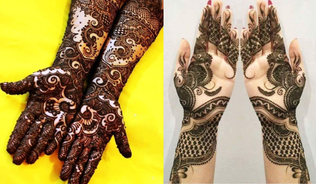 A rich paternal design for both hands
