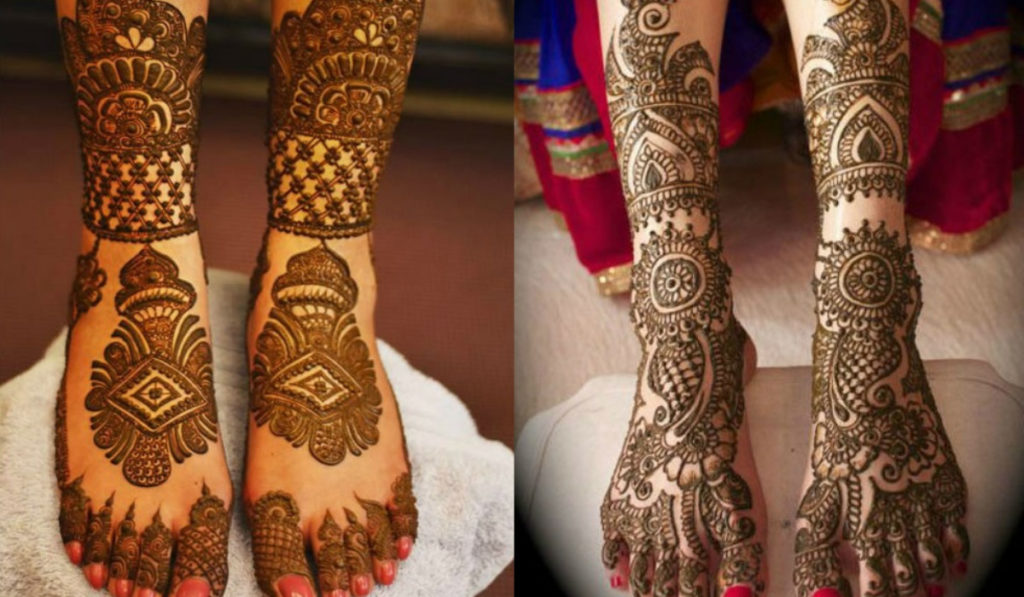The look of traditions for Bridal Mehendi Designs