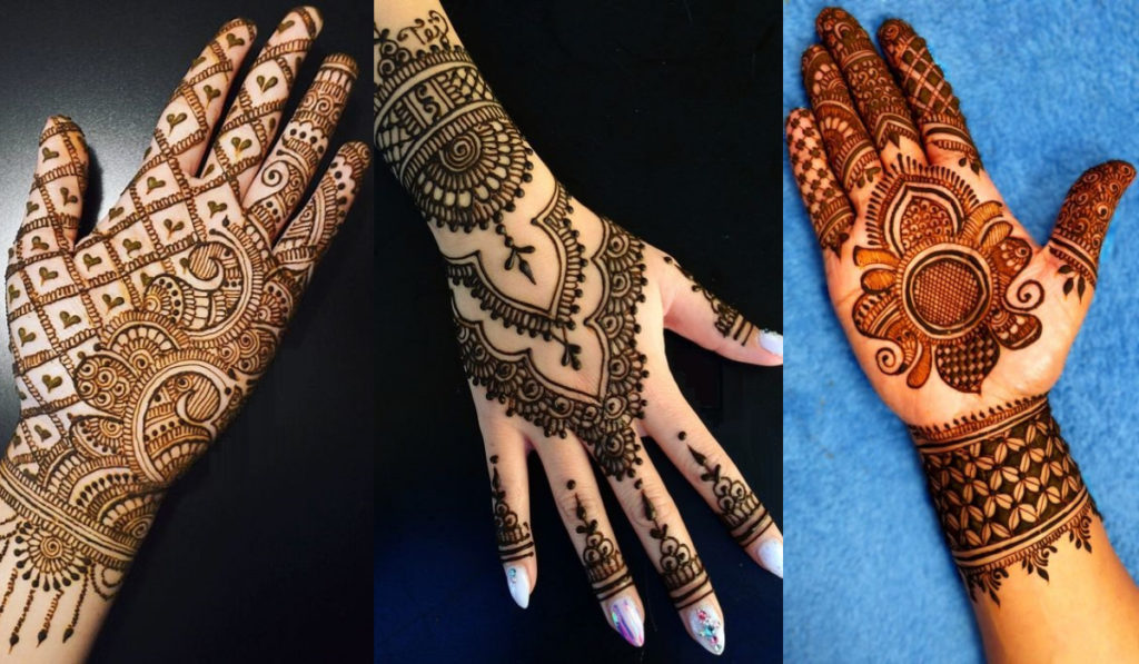 A compilation of Unique Mehendi designs