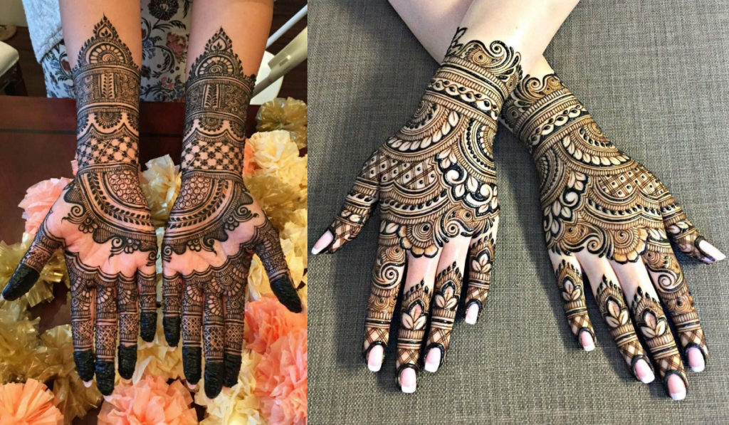 A take on Patterns for Bangle style Mehendi Design