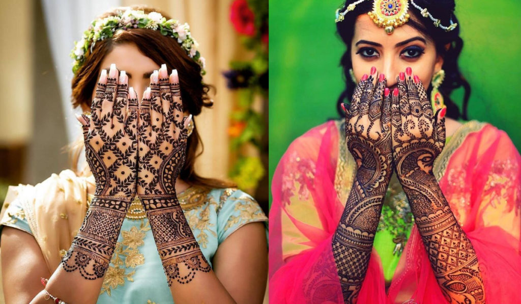Back Hand Replica Mehendi Design