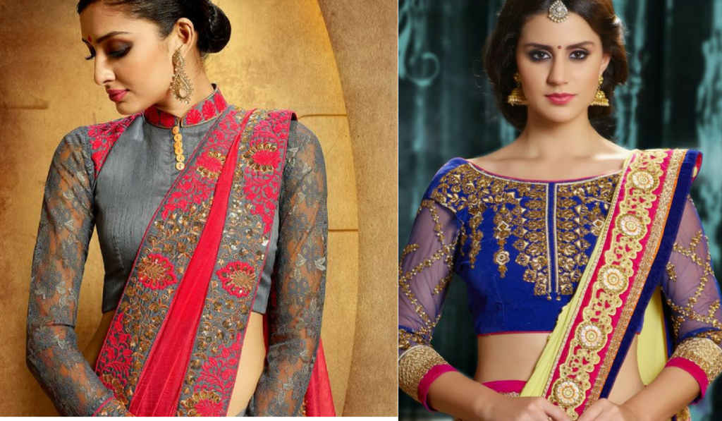 Blouse designs for traditional appearance