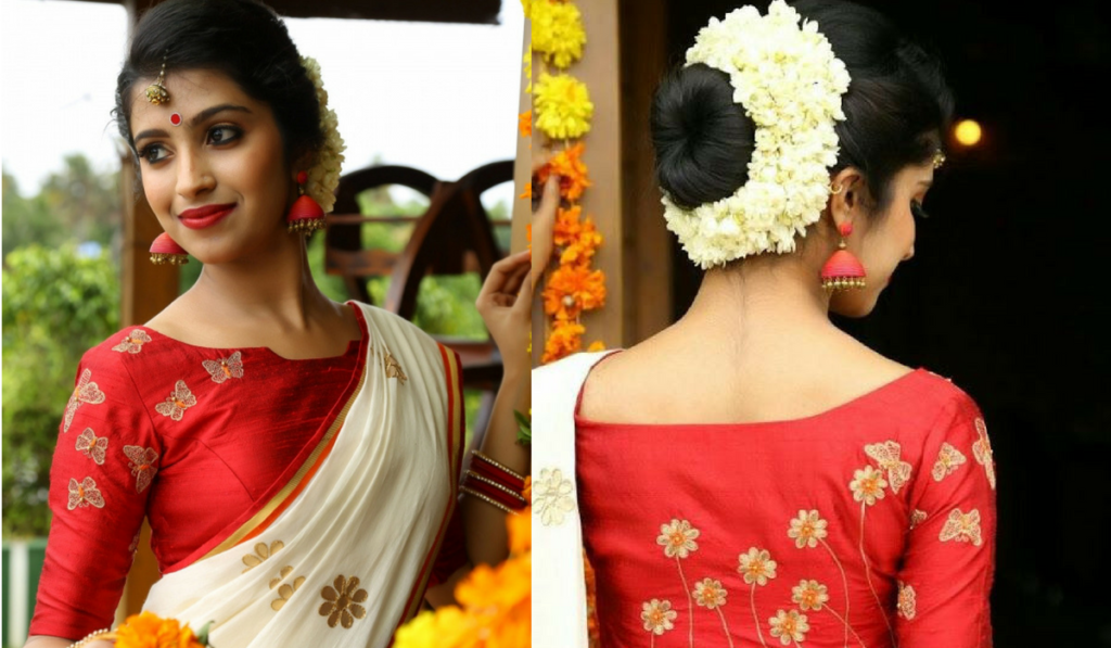 Latest Blouse Designs Collection 2018 Bridal Wedding Party Saree