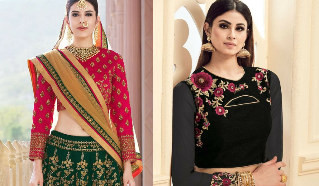Gorgeous full sleeved blouse for lehenga