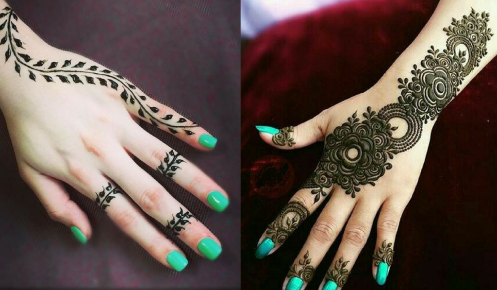 Mehndi Designs Easy Simple Henna Designs