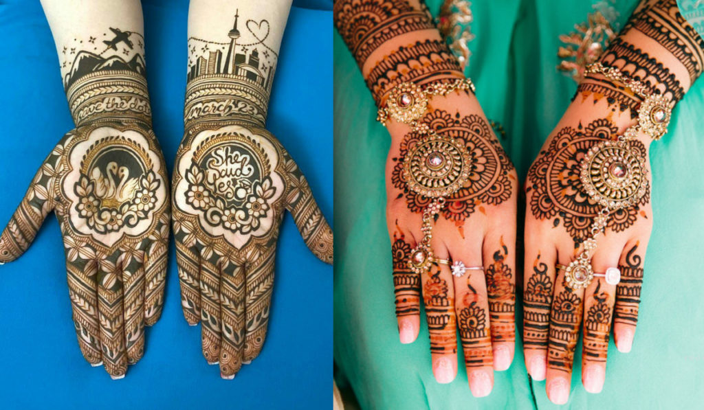 Mehendi Design that tells a story