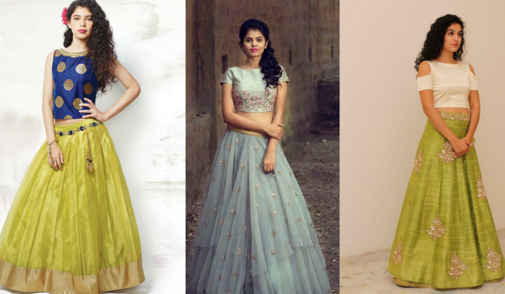 Multiple choice blouses for lehenga choli