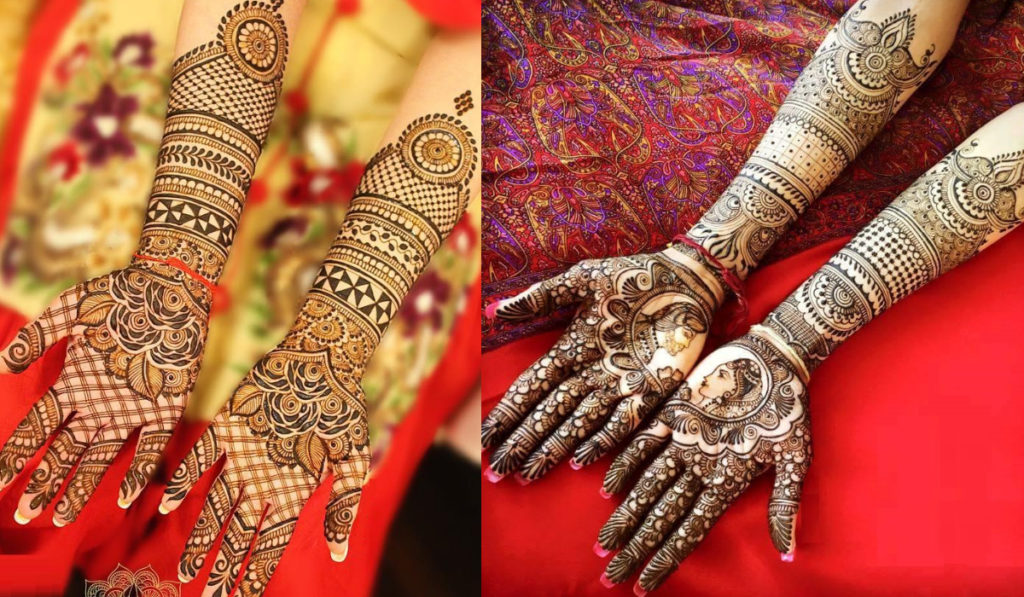 The Legendry Dulha-Dulhan Mehendi Design