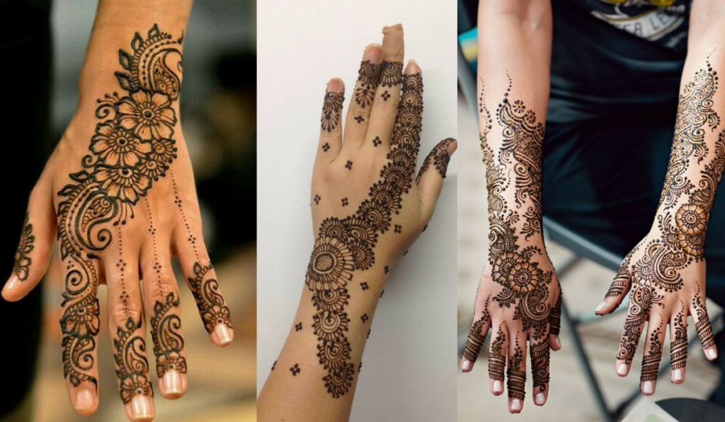 The dotted mehendi