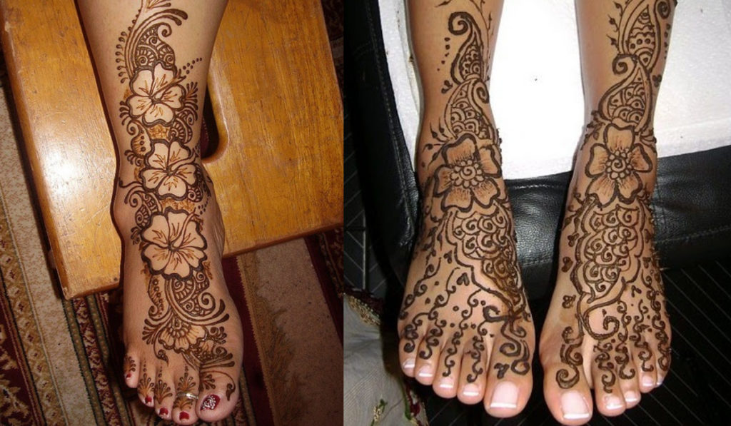 The filling mehendi