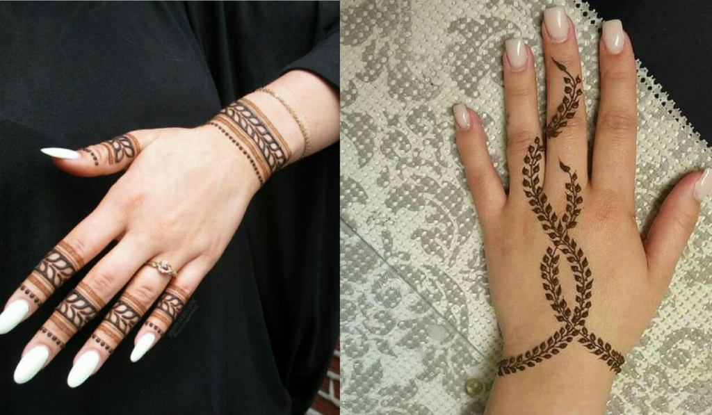 Best New Bracelet Mehndi Design 2017 For Your Wrists: Simple Henna Designs