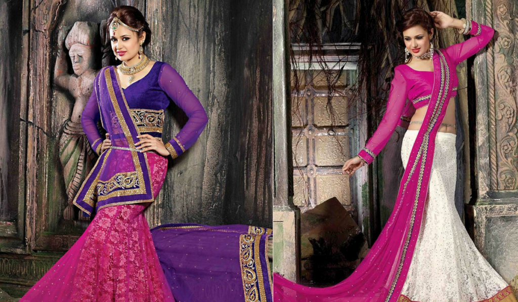 Full sleeved blouse for lehenga