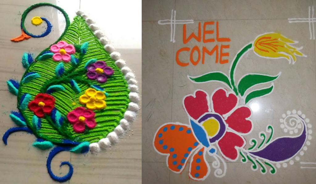 A warm welcome Rangoli