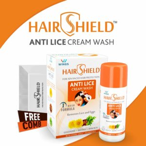Hair Shield Anti Lice Cream Wash