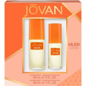 Jovan 2 Piece Fragrance Set Musk Spray for Women