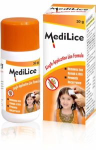 Medilice Single Application Lice Formula