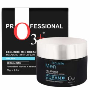 O3+ Exquisite Men Ocean Meladerm 24 Hour Whitening Cream for Dry Skin