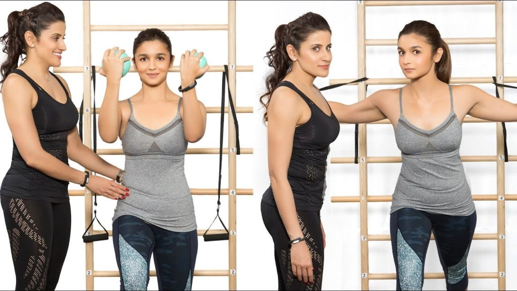 Alia Bhatt's workout regimes