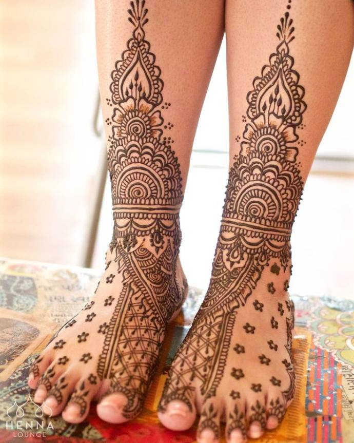Anklet Style Mehndi